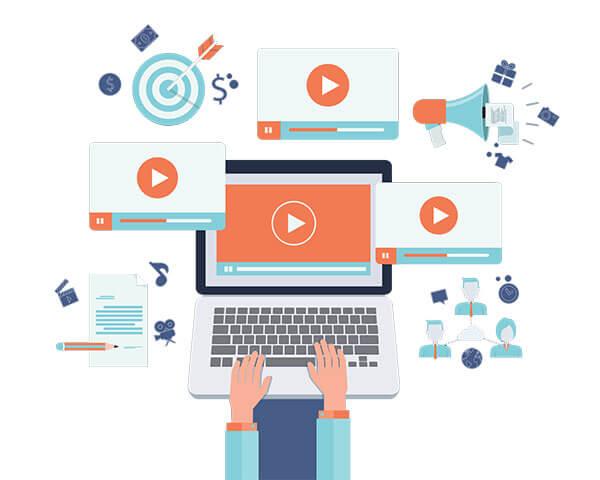 تولید محتوای ویدئویی